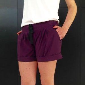 Lululemon Spring Breakaway Purple Short